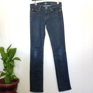 🌼 3/$40 7 For All Mankind Straight Leg Jeans
